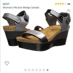 Naot miracle wedge -comfy